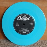 W.A.S.P. - The Real Me - Blue Vinyl 7