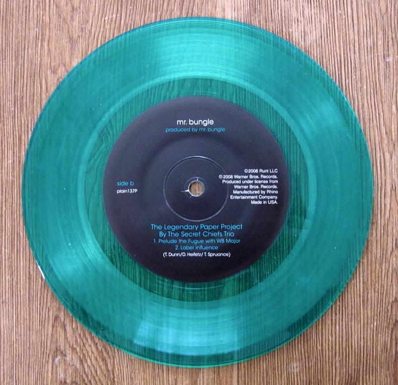 Mr Bungle Disco Volante Green Vinyl Lp 12 Inch