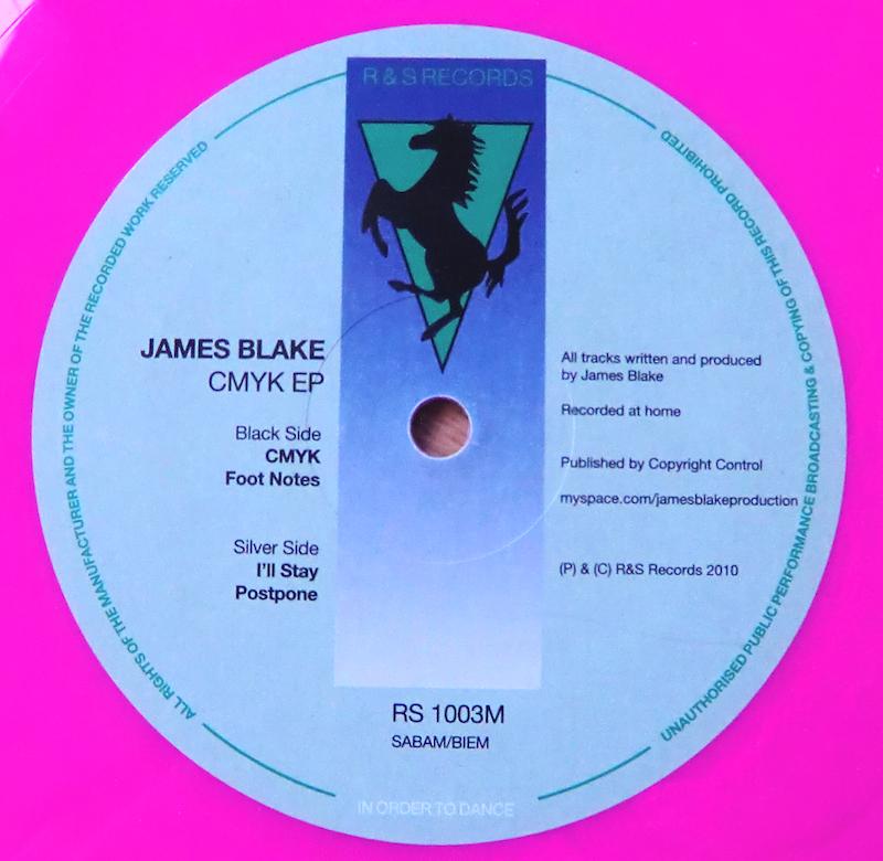 James Blake Cmyk 12 Inch