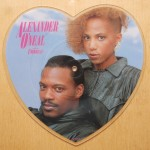 Alexander O'Neal Featuring Cherrelle - Never Knew Love Like This Heart Shaped 7