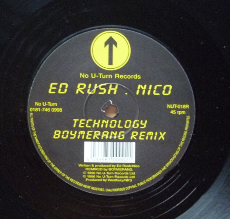 Ed Rush & Nico - Technology (Boymerang Remix)