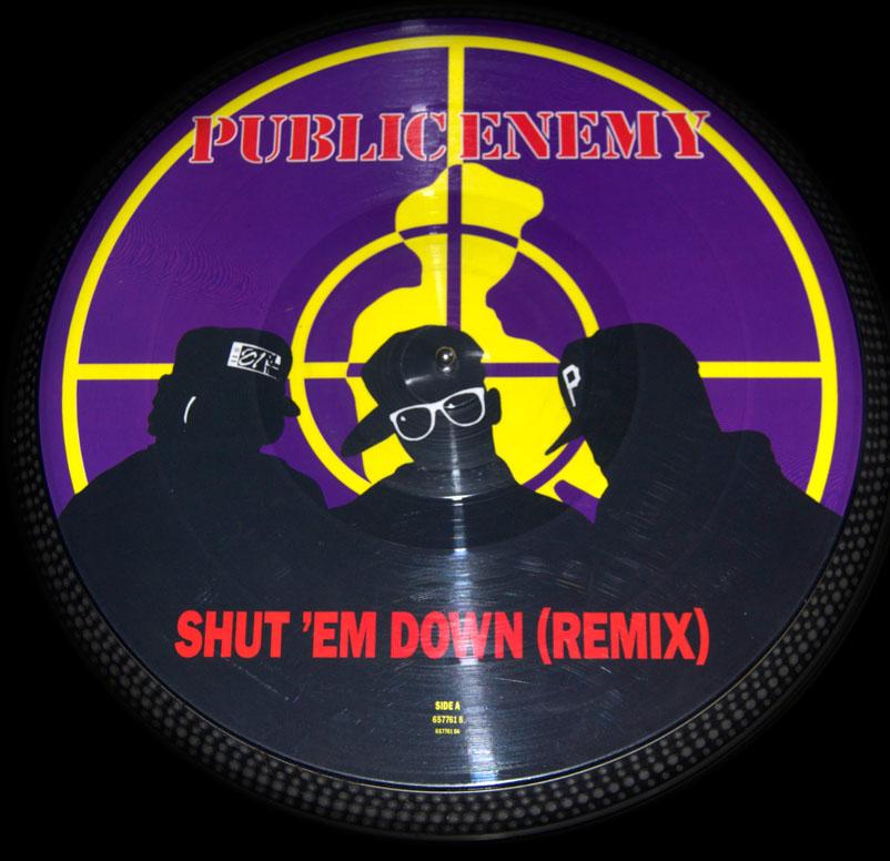 Public Enemy Back Patch