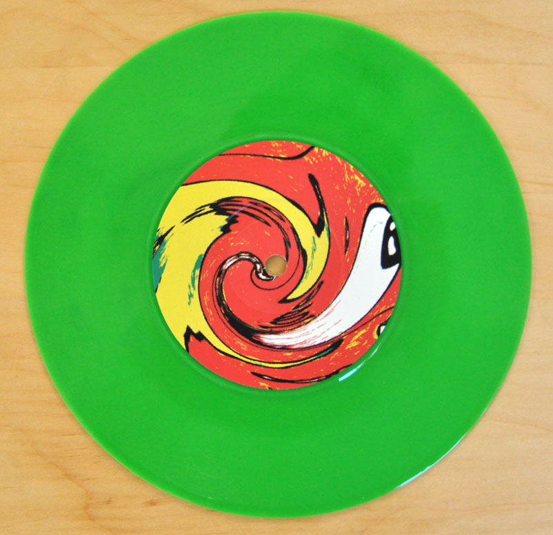 The Wildhearts Caffeine Bomb 7 Quot Green Vinyl 12 Inch