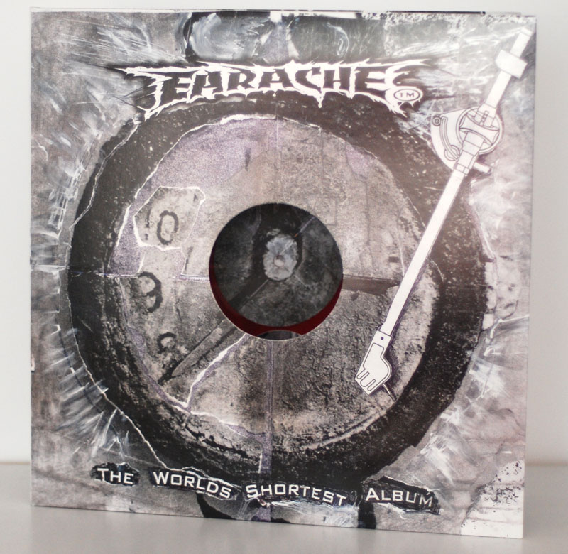 Earache Records World S Shortest Album Rsd 2013 5 Quot Red