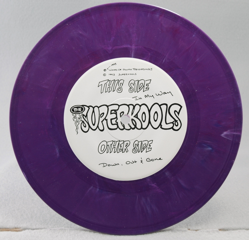 The Superkools – In My Way vinyl