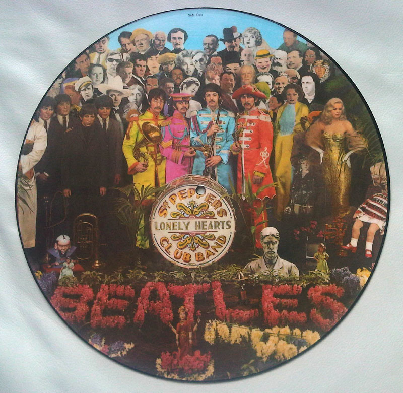 The Beatles Sgt Pepper S Lonely Hearts Club Band Picture