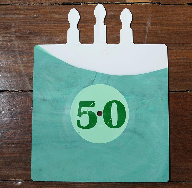 Less Than Jake Birthday Cake Shaped Whitegreen Vinyl 7 12 Inch