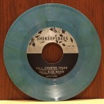 She Keeps Bees - Counter Charm - Green/Blue Marbled Vinyl