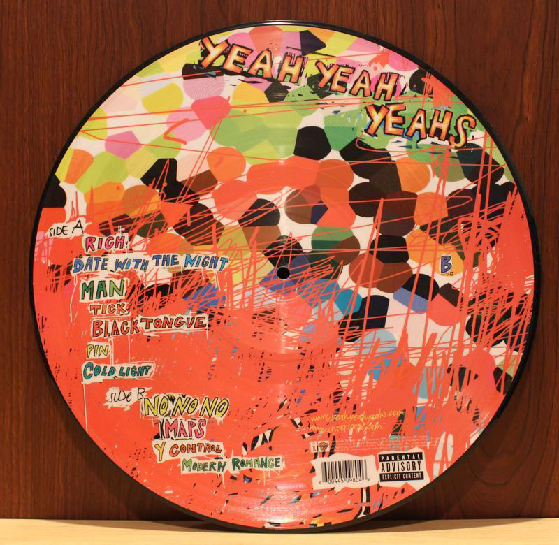 Yeah Yeah Yeahs Fever To Tell Vinyl Picture Disc 12 Inch