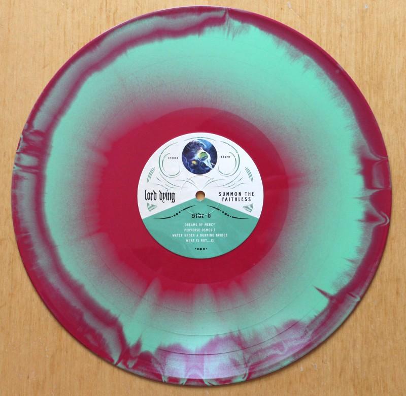 Lord Dying – Summon the Faithless vinyl