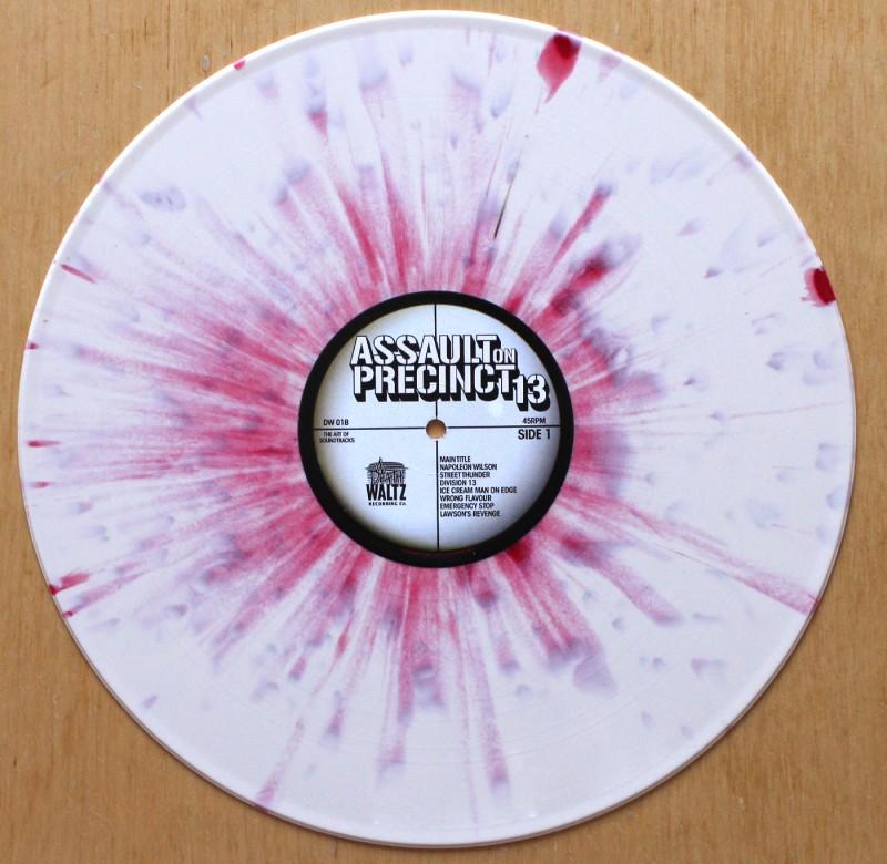 John Carpenter – Assault On Precinct 13 Soundtrack vinyl