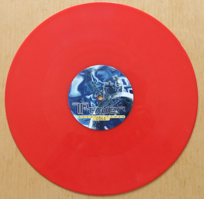 T-Power – Police State (Part 1) vinyl