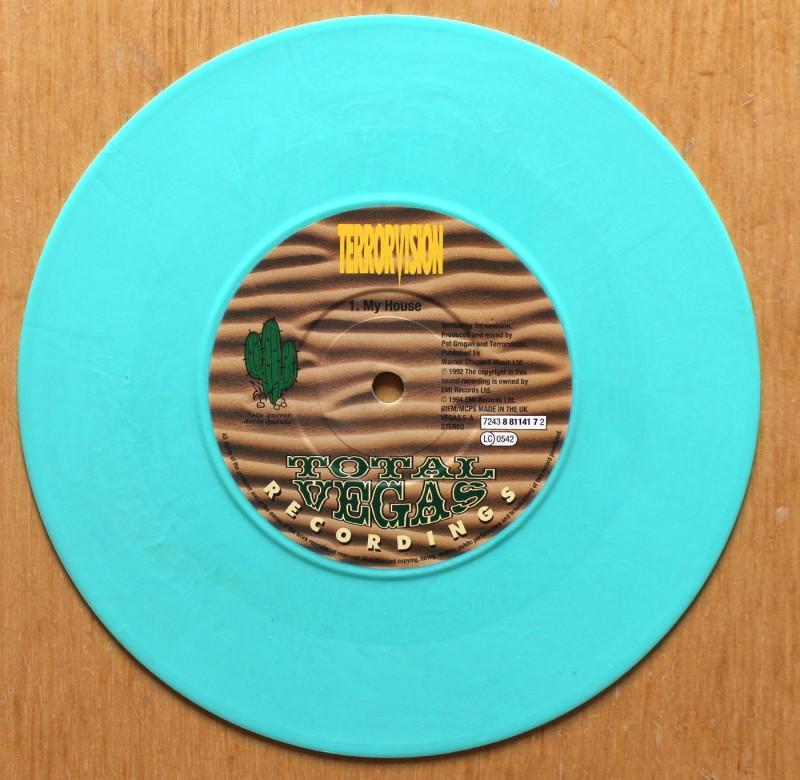 Terrorvision – My House vinyl