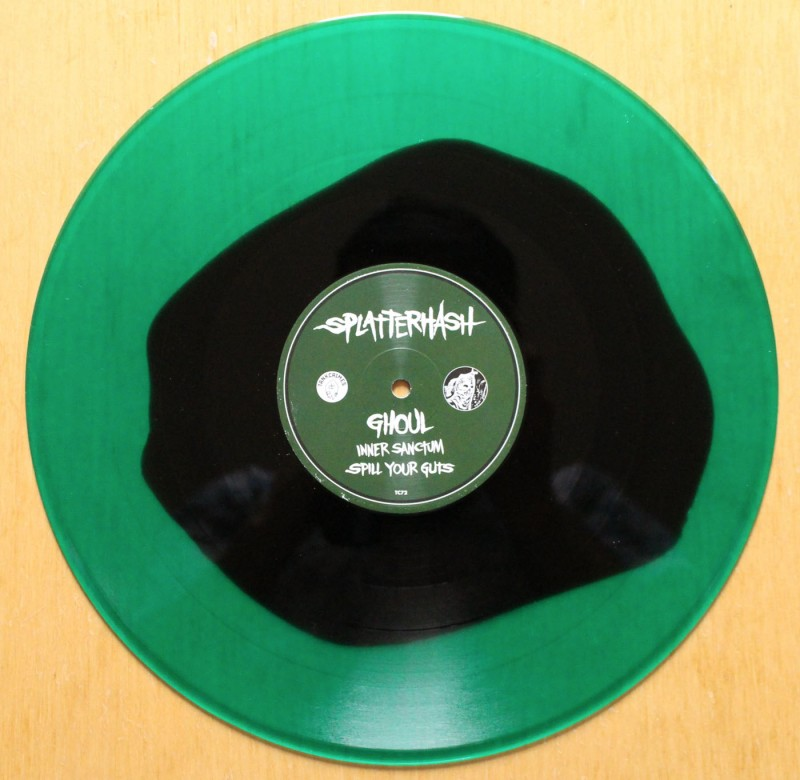 Ghoul / Cannabis Corpse – Splatterhash vinyl