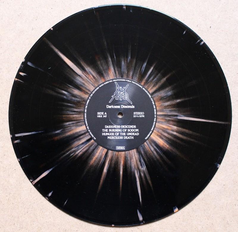 Dark Angel – Darkness Descends vinyl