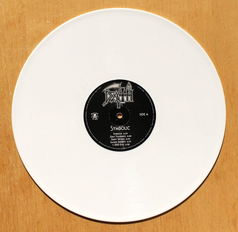 Death Symbolic White Vinyl Lp 12 Inch