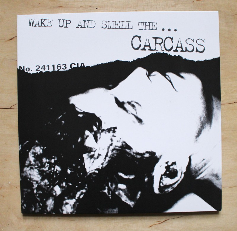 Carcass - Wake Up And Smell The - Clear/Green Splatter