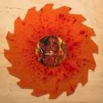 Exhumed - Splattercult - Orange/Red Splatter Saw Shaped Vinyl - 12 Inch