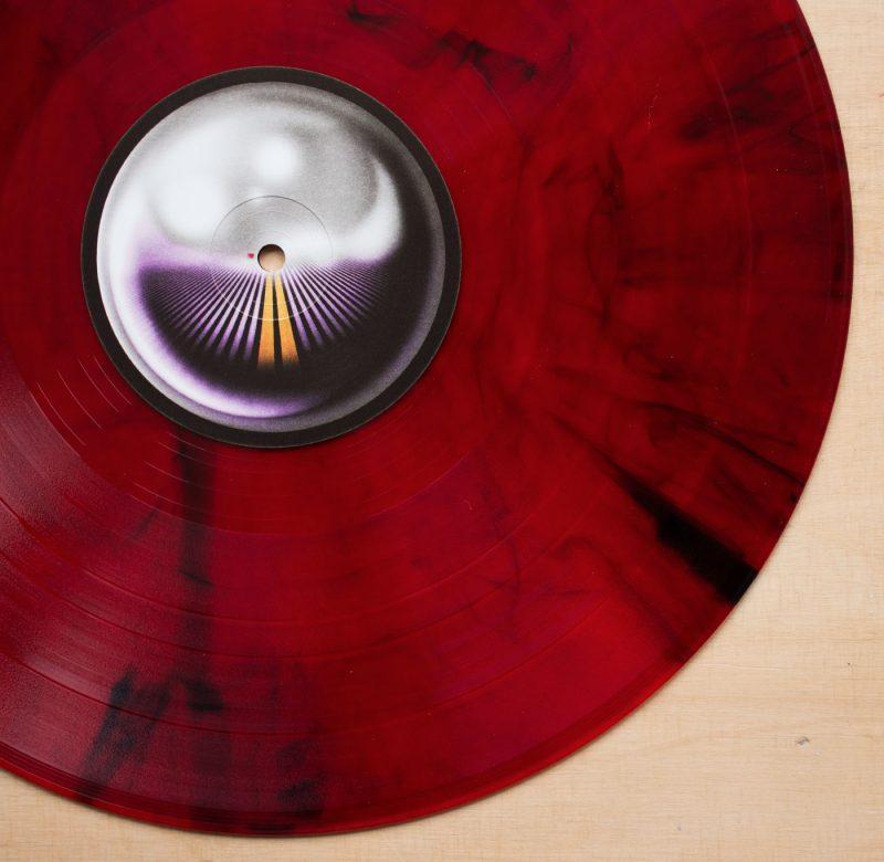 Tame Impala - Currents Box Set - Red/Black Marbled Vinyl
